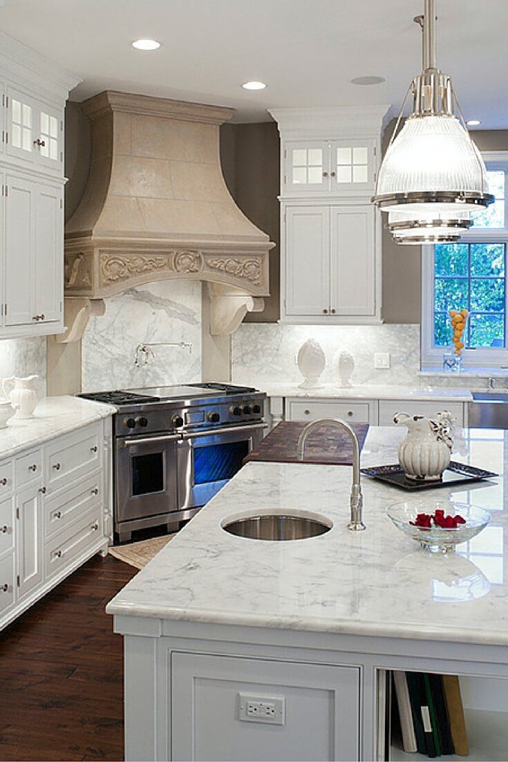 Check Out Incredible Gallery Of The Top 38 White Kitchen Designs. The 2016  Edition. Many Kitchen Styles Included. Part 96
