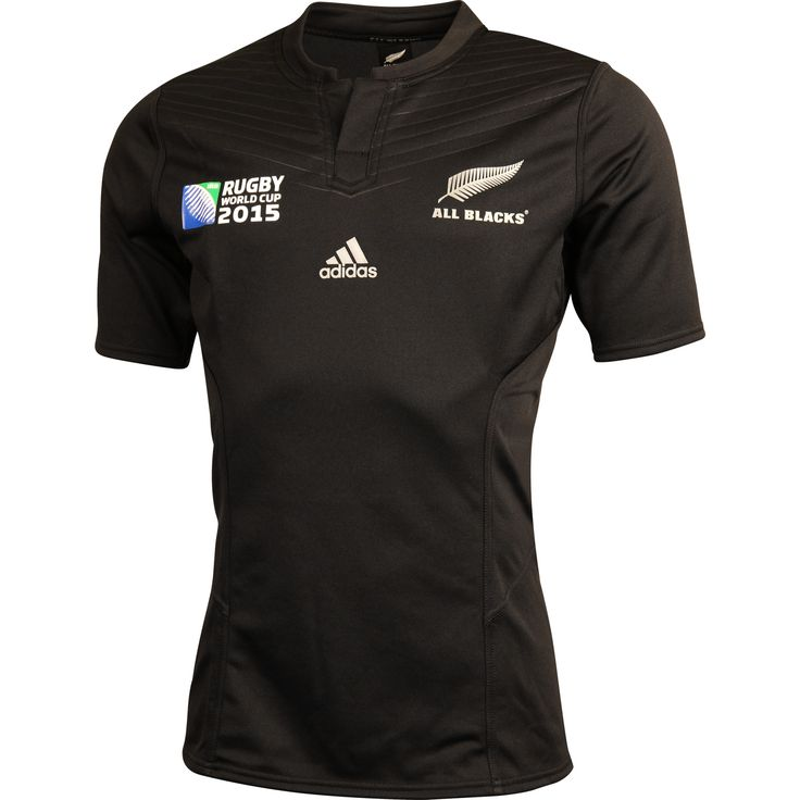 All Blacks 2015 Men's RWC Performance Home Jersey - Wallabyshop Australian Rugby Union Official Online Store
