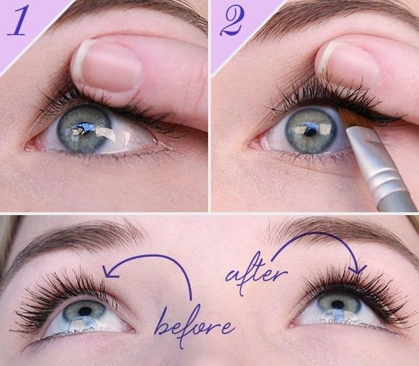Simple Trick to Make Lashes Look Fuller