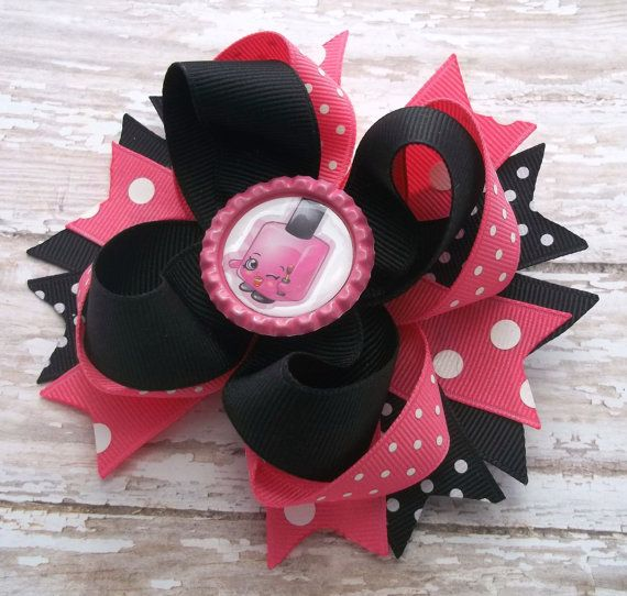 Birthday Hair Bow Girls Hair Bow  Boutique by JustinesBoutiqueBows