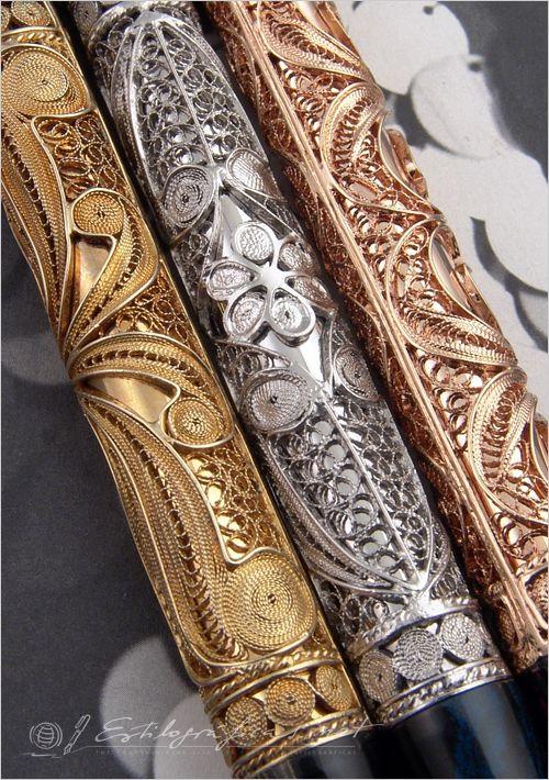 Visconti The Three Magi – Hermitage Collection fountain pens Photo by Álvaro Romillo ~Grand Luxury lifestyle