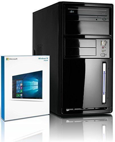 Shinobee PC Unité centrale pour ordinateur de bureau (Processeur Intel - Quad-Core - 4x2GHz, 2.41GHz en mode turbo - 500Go SATA3 - Intel HD Graphics - Mémoire RAM 8Go - Windows10 64 Bits - Lecteur graveur DVD - HDMI, VGA - USB 3.0) #4919 Shinobee http://www.amazon.fr/dp/B0158JMJXS/ref=cm_sw_r_pi_dp_jsMiwb08E71XW