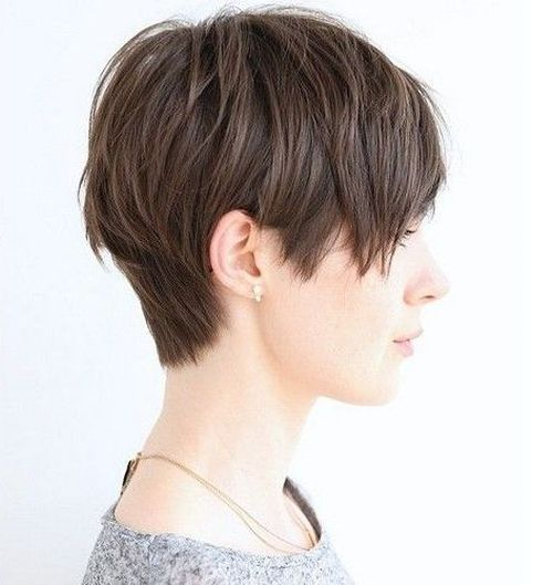 Short and Spunky Pixie Cut for Fine Locks