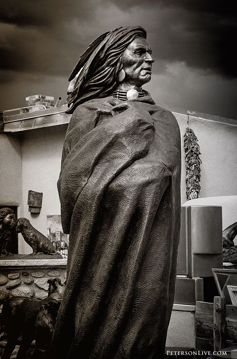 Indian Art, Canyon Road, Santa Fe, New Mexico