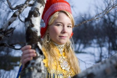 Sami Woman From Kautokeino Norway Cousin Cousin Cousin 161 Que Bonita Beautiful