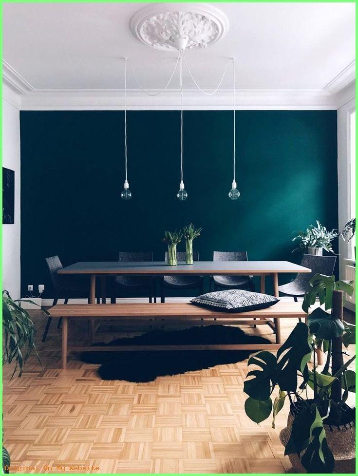 Schlafzimmer Ideen Wandgestaltung The Color Is Called Jagergrun Hunter Green By Schoner Cal Schoner Wohnen Farbe Haus Deko Schoner Wohnen Wandfarbe
