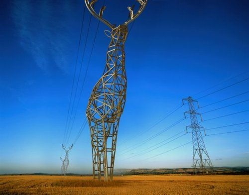 We love these awesome electricity pylon concepts, created by DesignDepot, a design studio located in Moscow, Russia.