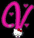 Alfabeto Animado de Hello Kitty Aplaudiendo.