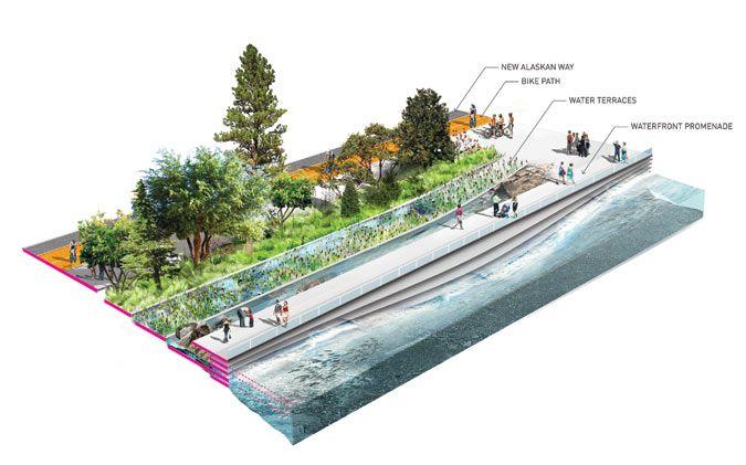Field Operations Seattle Waterfront proposal