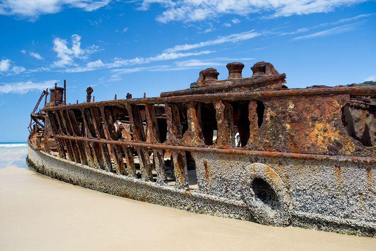 Shipwreck stern