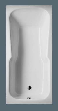 Bette Badewanne, Modell: BetteSet,  Farbe: Weiss,  #7,  Außenmaße: 170 x 75 cm, Tiefe: 38 cm,  Liegemaß: 1350 mm,  Nutzinhalt: 116 Liter,  Material: Stahl,  mit Griffbohrungen,  hochwertige Verarbeitung,  auf Anfrage auch passende verchromte Griffe für EUR 65.- erhältlich!
