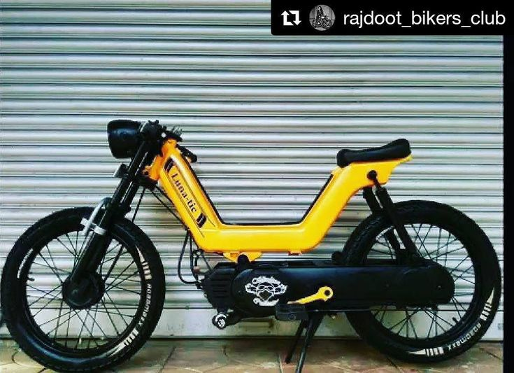 """79 Me gusta, 1 comentarios - Indian Auto Enthusiast (@indian_auto_enthusiast) en Instagram: """"Luna-tic! ・・・ Kinetic Luna: Kinetic Lunais a50cc mopedthat was introduced byKinetic…"""""""