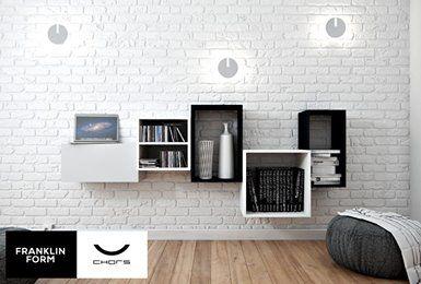 Franklin Form modular furniture - great living room idea