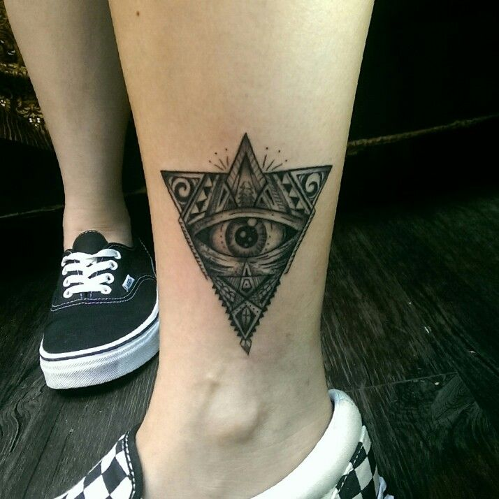 All seeing eye  Design and tattoo by Kaiser Sin at Since Studio Hong Kong