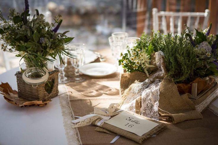 Decorazioni matrimonio juta migliore collezione for Disegni di casa in stile santa fe