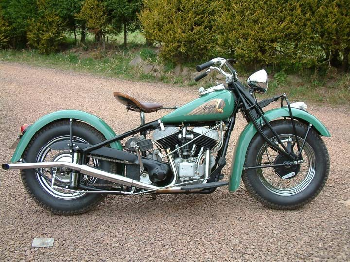 1940 indian chief  I don't like bikes but I think,I would love to ride this one!!
