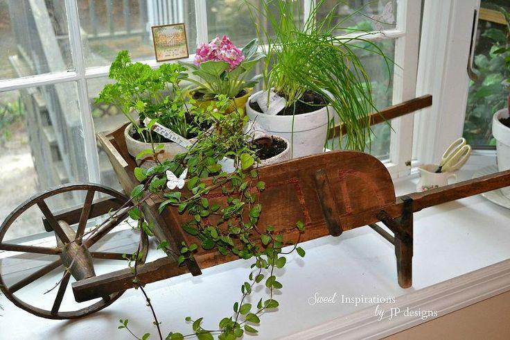 kitchen window herb garden gardens herbs garden and window. Black Bedroom Furniture Sets. Home Design Ideas
