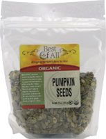 Vitacost - Best Of All Organic Unsalted Pre-Shelled Pumpkin Seeds - 12 oz for $5.19