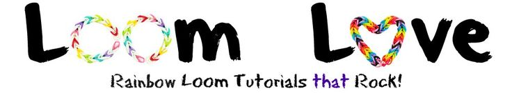 Awesome website ... has so many loom band bracelets & key chains with tutorials for each one.