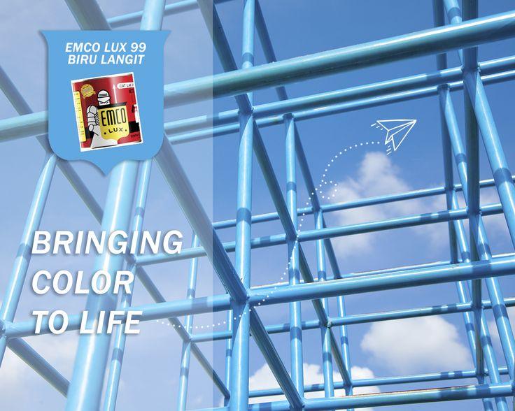 Bringing Color to Life!                                                                                                                                                                                                                                                                                                                                                        Jangan mau hanya menjadi 'biasa', jadilah 'luar biasa'. EMCO Paint membawa warna-warna yang akan membuat hunianmu tampak luar…