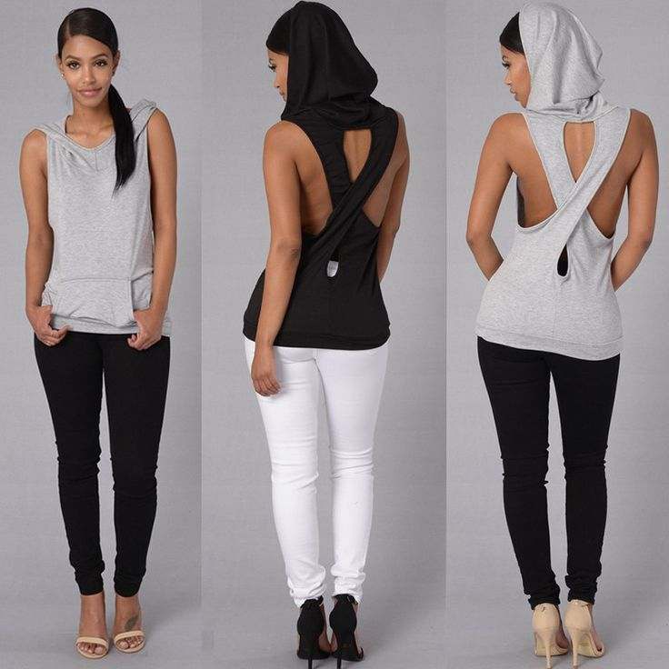 Hooded Back Cross Hollow Sleeveless Vest    https://zenyogahub.com/collections/yoga-tops/products/hooded-back-cross-hollow-sleeveless-vest