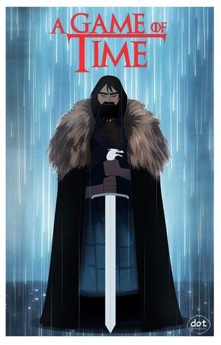 A Game Of Time (game Thrones V Samurai Jack)