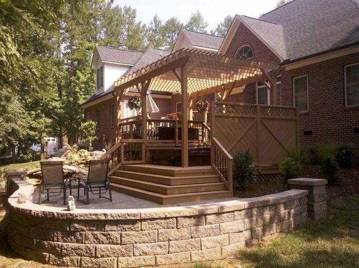 38 best deck plans images on pinterest | patio ideas, deck plans ... - Patio Building Ideas