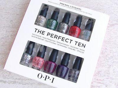 OPI Coca-Cola The Perfect Ten 10pc Mini Polish Gift Set