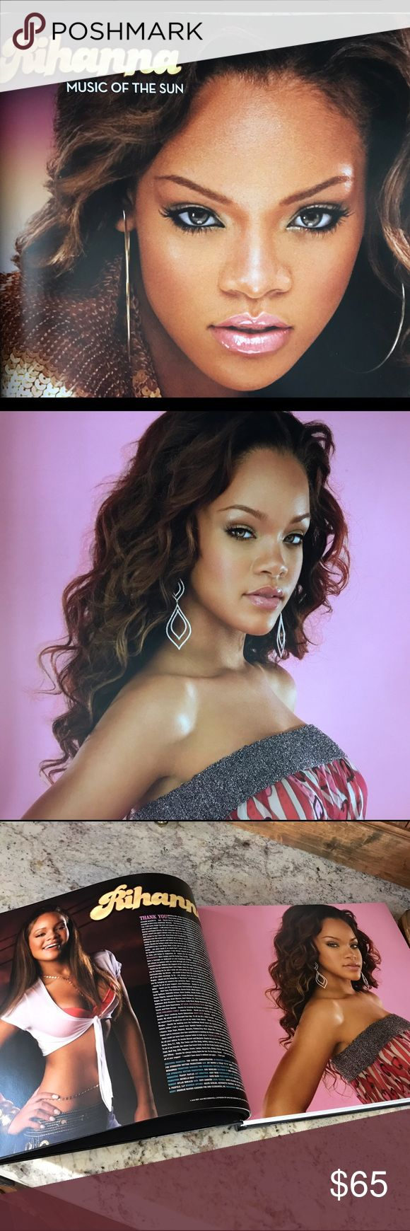 Rihanna Coffee Table Book Leather Bound Hardcover, Over 200 pages of RHIANNA- her wardrobe,  fashion, style, comments on songs, photos rarely seen, Rhianna shares facts to learn and love💞 Other
