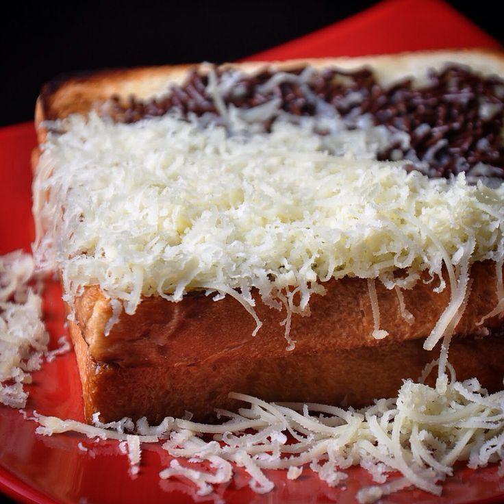 Roti Bakar coklat & Keju