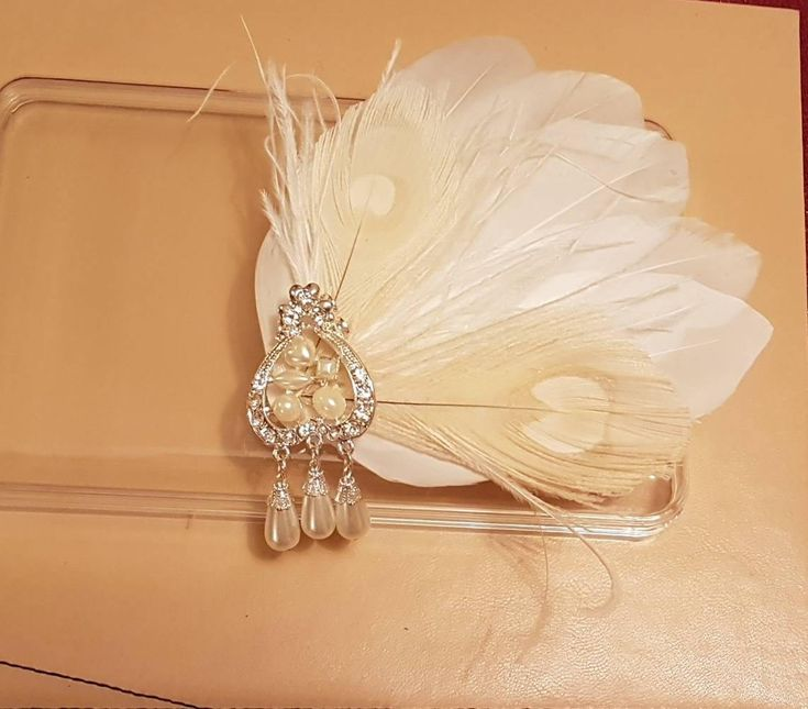 Excited to share the latest addition to my #etsy shop: Bridal Hair Clip Bridal Feather Fascinator, Feather Hair Piece, Wedding Hair Accessory, ivory feather hair clip, Bridal feather fascinator http://etsy.me/2CrgBEU