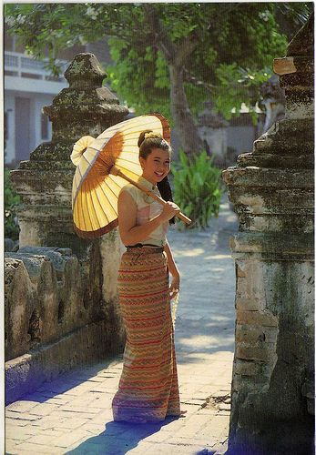 helga_ni - Young woman from Thailand // private postcard swap. | Flickr - Photo Sharing!