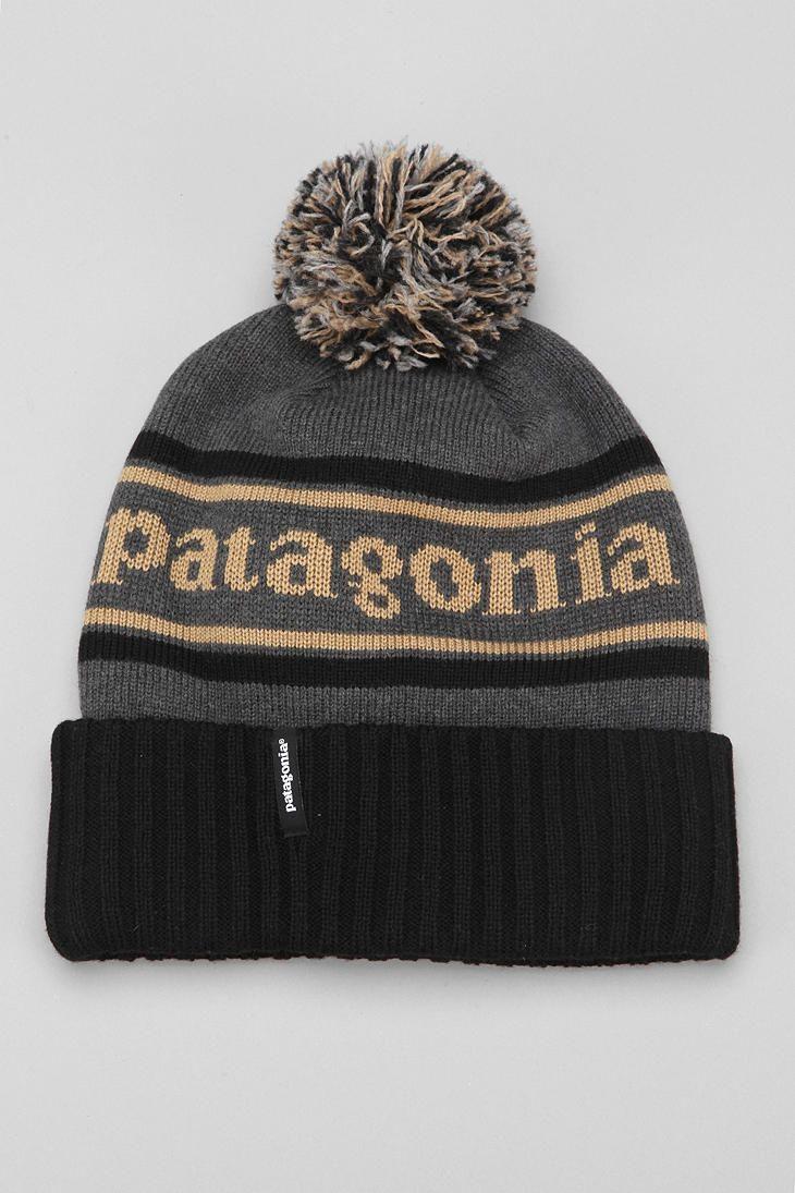 Patagonia Powder Town Beanie Grey