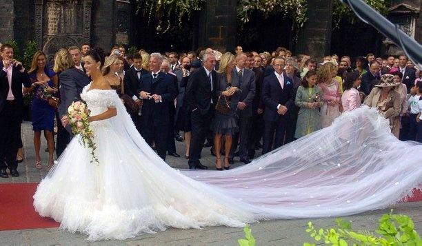 Verona Pooth | ☆ Celebrity Weddings ☆ | Pinterest | Verona