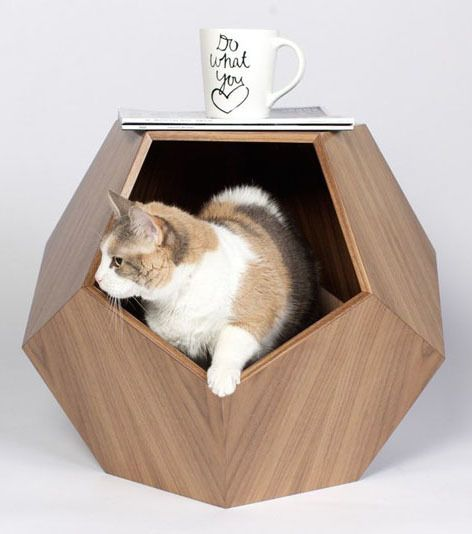 11 Cat Caves That Prove Cat Beds Can Be Stylish                                                                                                                                                                                 More