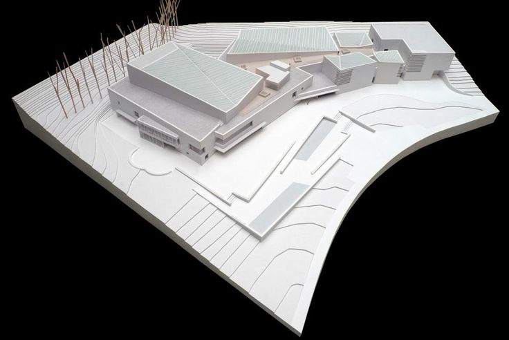 Museo Universidad de Navarra, architectural model