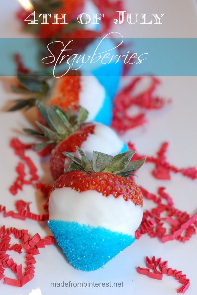 Impress your guests with these SUPER EASY white chocolate dipped strawberries!  madefrompinterest.net