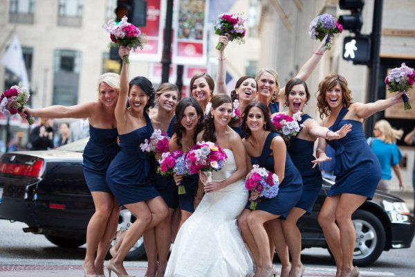 10 Fun Bridesmaid Photos