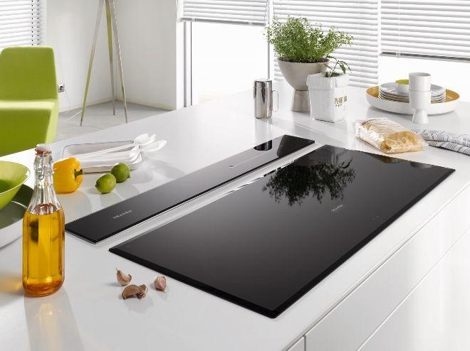 Miele DownDraft afzuigkap DA 6890 - Product in beeld - Startpagina voor keuken ideeën | UW-keuken.nl