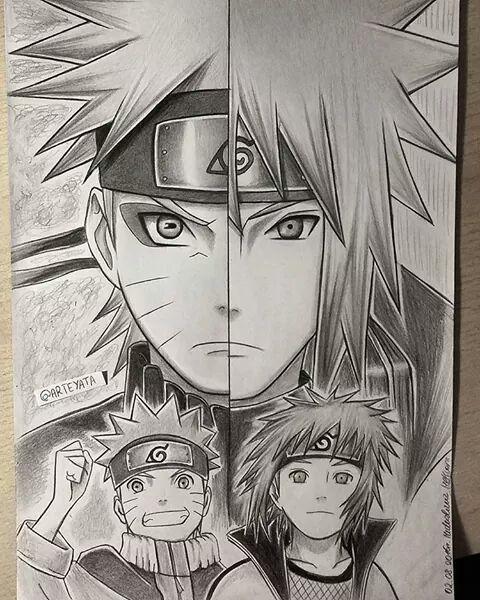 Naruto & Minato father and son