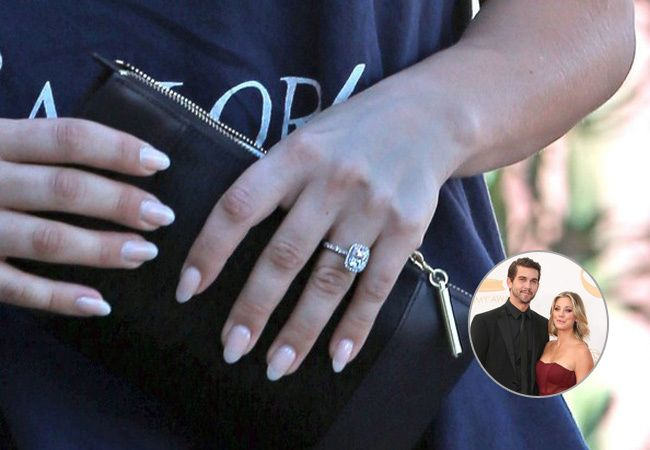 Seen Kaley Cuoco's Engagement Ring Yet?
