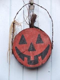 Pumpkin happy face!