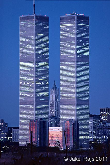 World Trade Center - New York Absolutely beautiful in person. I'm so glad that I got to see them before 9/11.