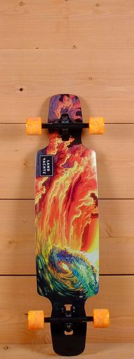 """The Landyachtz 37"""" Drop Carve is designed for cruising, carving and freeriding."""