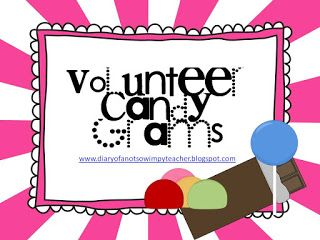 Diary of a Not So Wimpy Teacher: Volunteer Appreciation Candy Grams!