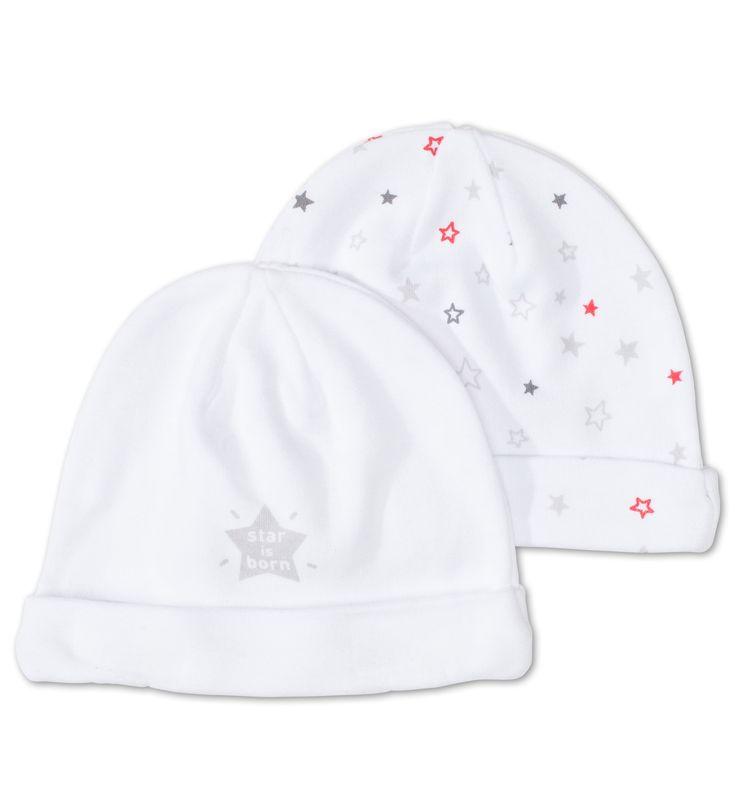 Baby-Mütze in weiss