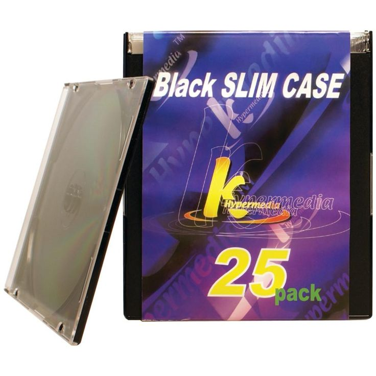Khypermedia Slim Jewel Cases 25 Pk