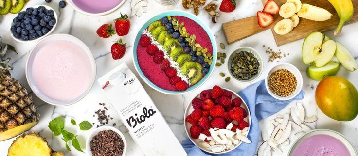 Biola® smoothie bowls