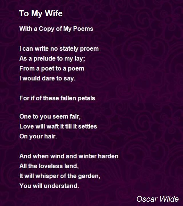 love poems for wife | Browse All Poems Love Poems Poem Hunter Photos                                                                                                                                                     More