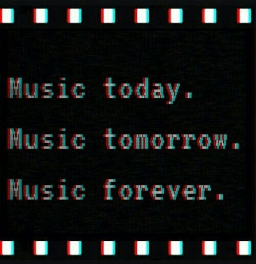 Music today. Music tomorrow. Music forever. #thepowerofmusic